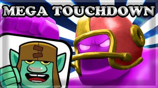 The BEST DECK for Mega Touchdown & New Dancing Goblin Giant Emote!
