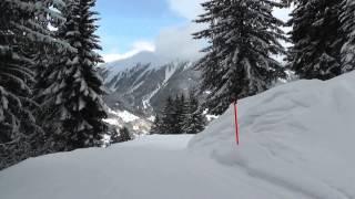 Skiing Davos - Parsenn