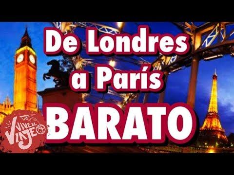 La forma mas economica de viajar de Londres a Paris
