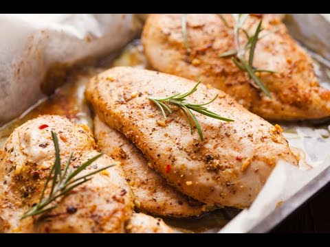 Petto di pollo in 3 ricette differenti youtube for Cucinare pollo
