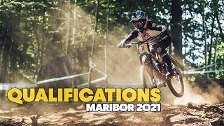 Here's what went down in Maribor DH Qualifications | UCI MTB World Cup 2021