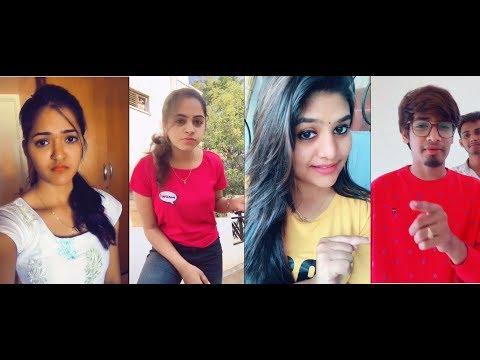 Telugu Girls Funny TikTok Latest videos|Telugu Dubsmash