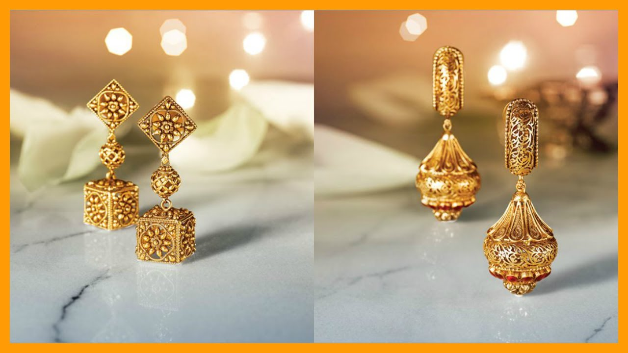 Gold And Diamond Collection From Tanishq - YouTube