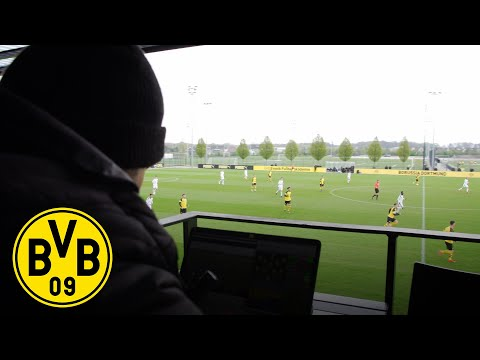 Inside BVB - Part 2: During the game | Video Analysis at Borussia Dortmund