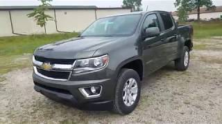 2018 Chevrolet Colorado LT Crew Cab - FULL REVIEW - Deepwood Green Metallic