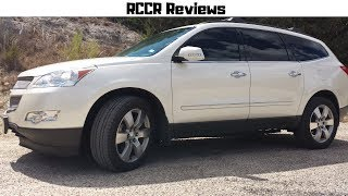 2011 Chevrolet Traverse LTZ Full Review + Sound Clips & Test Drive