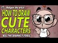 How to draw cute characters - how to make your drawings look cute as hell!
