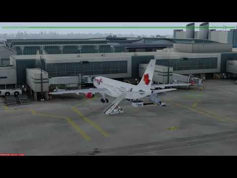 Airbus A330-200 Houston (KIAH) to Montreal (CYUL) P3D v4.1