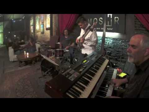 Doug Robinson Trio at Cafe Moser 2016 NAMSABNEK