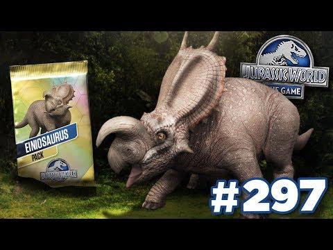 EINOSAUR TOURNAMENT!!!    Jurassic World - The Game - Ep297 HD