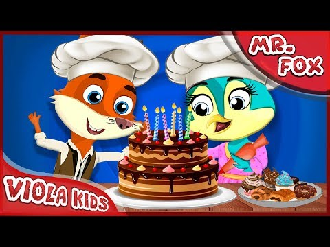 MR Fox All episodes compilation (1-16) | Funny Animals Cartoons Compilation Just for Kids [4K]