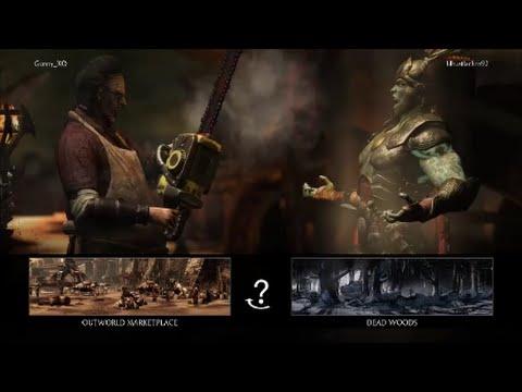 MKXL: Noble GunShow (Leatherface - Butcher) Vs CR Footwurk (Kotal Kahn /Johnny Cage) - Online Set