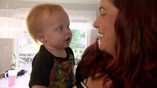 Familjen hamnar i chock när Annika varit hos frisören  - Familjen Annorlunda (TV4)