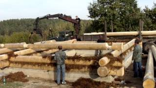 Строительство дома из бревна (03)