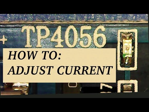 TP4056 Hack: Change Current Setting