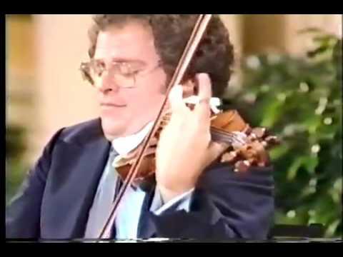 Itzhak Perlman plays Chopin-Milstein: Nocturne in C-sharp minor.