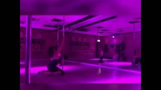 Beginner Exotic Pole Dance class at Bat-Yam, Israel