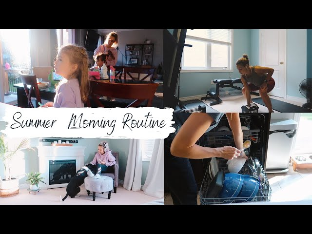 Summer Morning Routine 2020 | Clean and Bake With Me