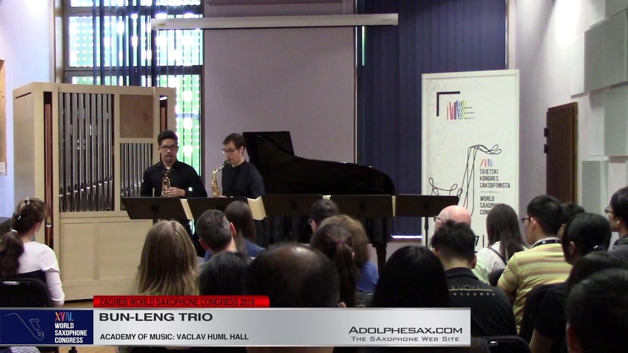 Massaï by  Christian Lauba    Bun Leng Trio   XVIII World Sax Congress 2018 #adolphesax