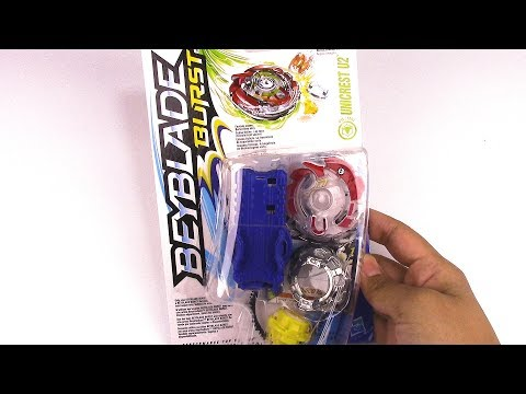 UNICREST U2 Starter Pack Unboxing & Review!! Beyblade Burst by Hasbro