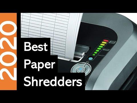 10 Best Paper Shredders Of 2020 | Paper Shredder Reviews