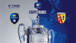 Jour de conf avant FC Versailles - Lens