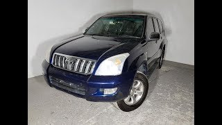 Automatic 4×4 8 Seat Toyota Landcruiser Prado GXL 2005 Review For Sale