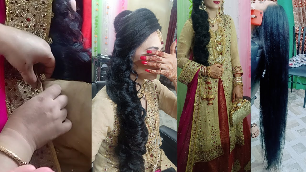 Bridal Hairstyle 2019 Pakistani Pakistani Bridal Hairstyles For Barat Youtube