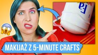Testuję TRIKI MAKIJAŻOWE z 5-Minute Crafts  Dziwne lifehacki urodowe ♦ Agnieszka Grzelak Beauty