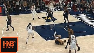 Jae Crowder Breaks Bogdanovic's Ankle / Cavaliers vs Pacers