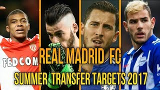 Real madrid  top  transfer targets for 2017  season