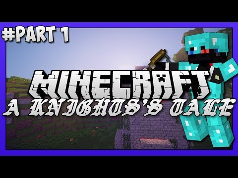 Minecraft Map (PVE) -  A Knight's Tale! Part 1 - Fighting The Ancient Knight!!