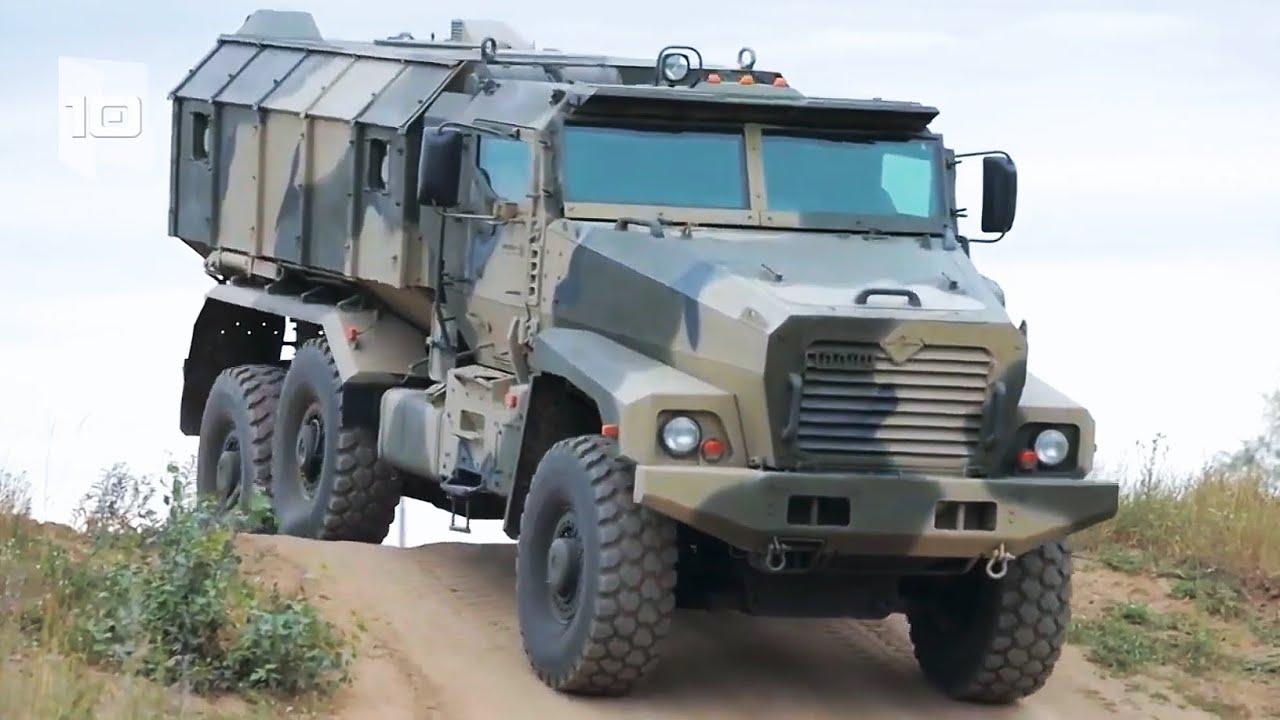 10 Caminhões Militares Blindados mais Surpreendentes do mundo