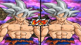 [TAS] DBZ BT4: Goku UI Vs. Goku MUI (Red Potara) (Request Match)