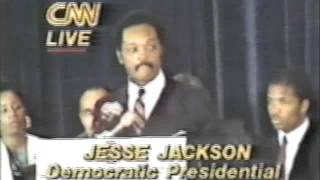 "Run Jesse Run  ""Announced Candidacy in 1984 Election"""