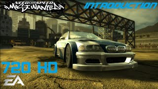 Need for Speed Most Wanted 2005 (PC) - Introduction