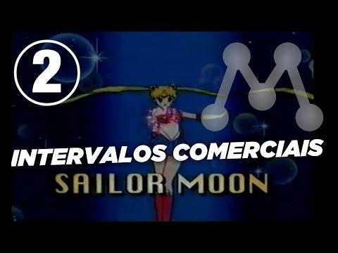 Intervalo comercial Sailor Moon - Rede Manchete Rio (Ago/1996) - 2