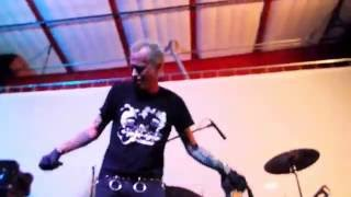 """Lower Class Brats playing """"Bullet"""" (Misfits cover,) at Punk Rock Pizza Wars 2016 Day 1"""