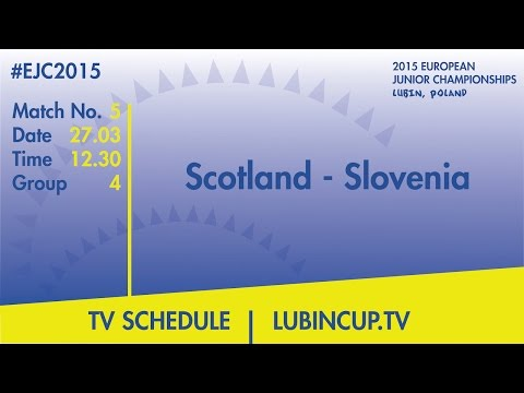 Scotland - Slovenia #EJC2015 Lubin, Poland