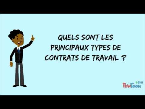Contrat de travail   YouTube