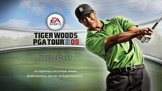 Tiger Woods PGA Tour 09 - PS3 Gameplay