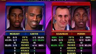 NBA Showtime NBA On NBC - ARCADE - (Toronto Raptors) MAME 0.209 emulator