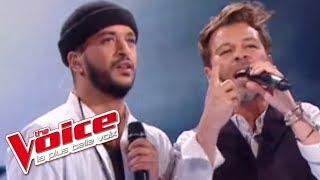 Christophe Maé et Slimane - Ça fait mal | The Voice France 2016 | Finale