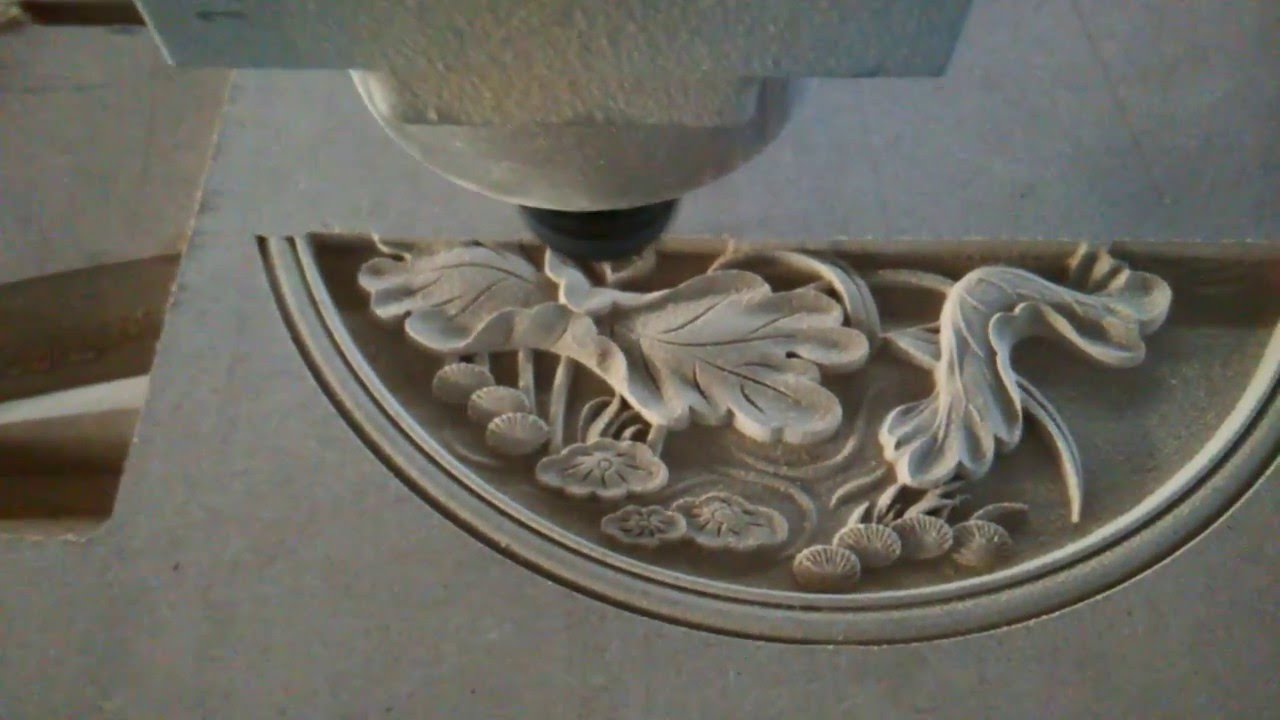 High precision wood mdf relief engraving and cutting cnc