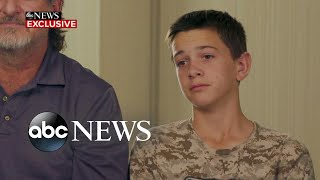 Teen hero in deadly ambush describes saving family members l ABC News