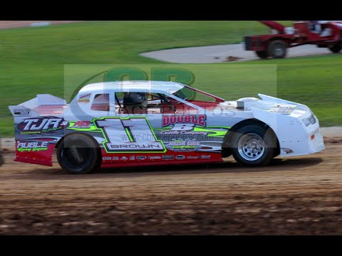 Derek Brown In-Car Camera Lucas Oil Speedway Factory Stock A-Feature 4-9-16