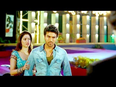 Racha Movie Interval Fight | Ramcharan Tej...