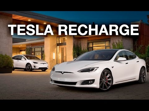 Can World's Tallest Mountain Recharge A Tesla Model S Via