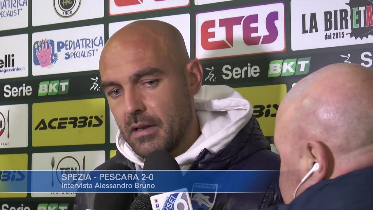 Spezia - Pescara 2-0: Alessandro Bruno - YouTube