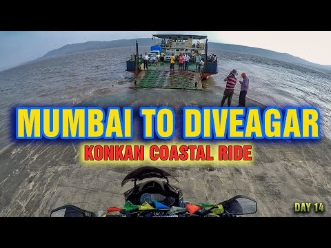 Mumbai to Diveagar Maharashtra | Konkan coastal ride | All India  | Bhutan | Myanmar | Day 14 |